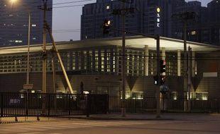 L'ambassade américaine à Pékin, en Chine