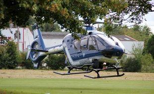 Illustration d'un hélicoptère de la gendarmerie, ici en Ille-et-Vilaine.