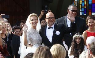 Pascal Obispo a épousé ce samedi le mannequin Julie Hantson au Cap-Ferret.