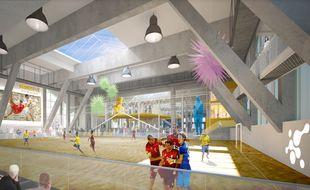 Du sport de sable, de l'art et des espaces consacrés à la recherche... Sandspot à Bordeaux sera un lieu d'innovation «hybride».