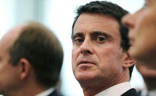 Le Premier ministre Manuel Valls le 13 juin 2016 à Caen