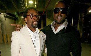 Spike Lee et Kanye West en 2006