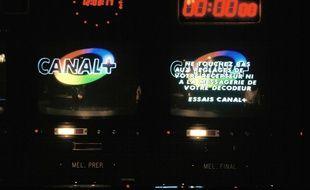 Les locaux de Canal+ en 1984
