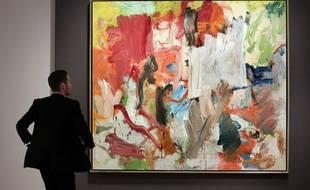 Willem de Kooning a réalisé ce tableau en 1977.