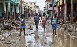 En Haïti, l'ouragan Matthew a détruit plus de 80% des bâtiments de la ville de Jérémie. Photo Logan Abassi UN/MINUSTAH