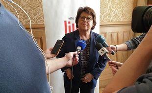 Martine Aubry, maire de Lille.