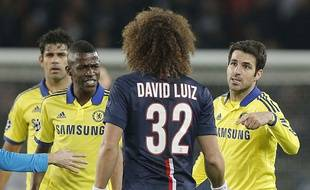 David Luiz pris à partie par ses anciens coéquipiers, le 17 février 2015