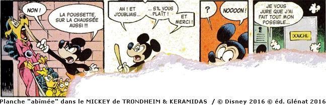 Mickey vu par Trondheim et Keramidas