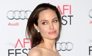 Angelina Jolie lors du gala AFI FEST 2015