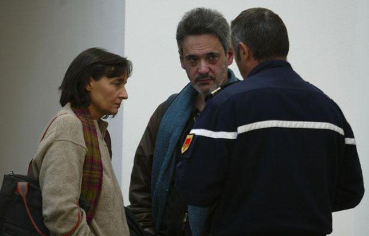 Les parents d'Agnès, Paola et Frédéric, sont arrivés de Paris en urgence jeudi matin. – Cyril Villemain / 20 Minutes