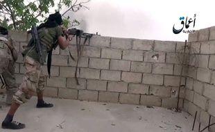 Image issue d'une vidéo de propagande diffusée sur internet par Daesh