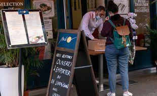 Depuis le reconfinement, restaurants et brasseries s'organisent afin de continuer à travailler.
