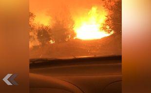 Ils parviennent à s'échapper d'un terrible incendie en Californie - Le Rewind