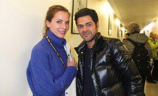La journaliste Mélissa Theuriau et le comédien Jamel Debbouze