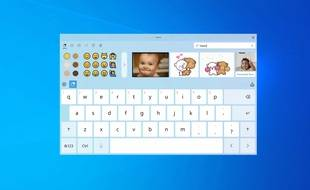 Les émojis arrivent sur le clavier virtuel de Windows