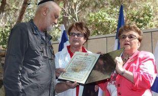 """Yves Criou, un Français qui avait sauvé sa belle-famille juive, a été déclaré dimanche, à titre posthume, """"Juste parmi les nations"""", la plus haute distinction décernée par l'Etat hébreu aux personnes qui ont sauvé au péril de leur vie des Juifs pendant la Shoah."""