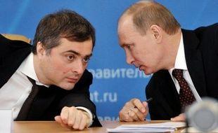 """Vladislav Sourkov avait en outre affirmé en 2011 que Vladimir Poutine avait été envoyé à la Russie par """"Dieu et le destin"""", afin d'aider ce pays plongé dans une grave crise économique avant son arrivée au sommet du pouvoir en 2000."""