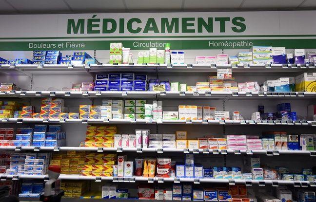 Image d'illustration du rayon homéopathie d'une pharmacie.