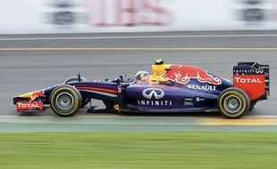 Daniel Ricciardo lors du Grand Prix d'Australie le 16 mars 2014.