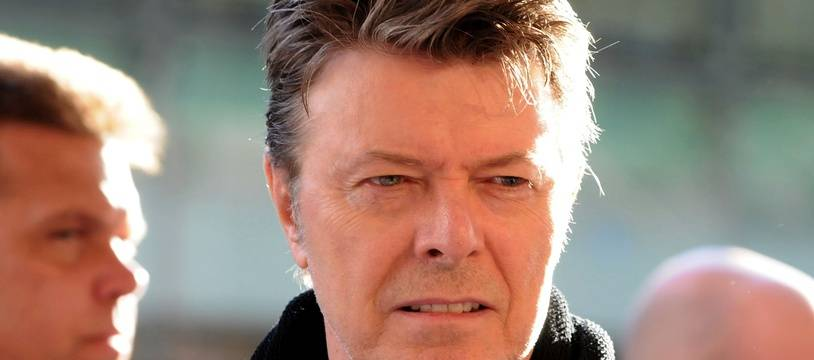 Le chanteur David Bowie