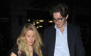 La chanteuse Ellie Goulding et le marchand d'art Caspar Jopling