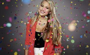 Anja Nissen représentante du Danemark à l'Eurovision 2017.