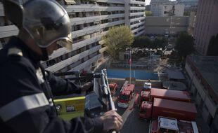 Les marins-pompiers sont en première ligne pour tenter d'estimer l'étendue de l'épidémie à Marseille