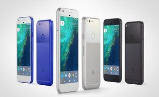 Les téléphones Pixel de Google seront disponibles fin octobre aux Etats-Unis et en 2017 en France.