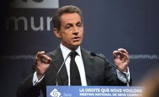 L'ancien président français Nicolas Sarkozy, le 15 novembre 2014 à Paris