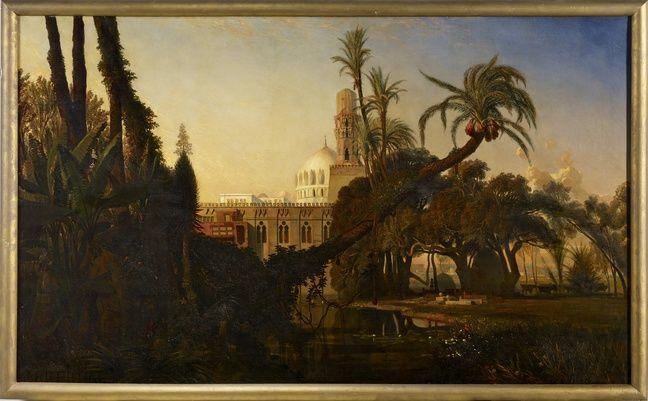 «Mosquée dans la Basse Egypte», actuellement au musée du quai Branly.