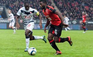 Jérémie Boga face aux Girondins de Bordeaux, le 22 novembre 2015.