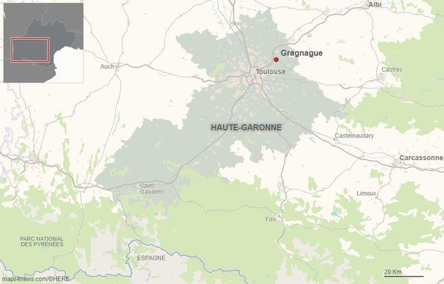 La commune de Gragnague en Haute-Garonne.