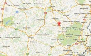 Epinal, dans les Vosges.