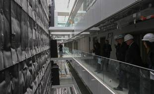 Le Cardo, bâtiment universitaire qui accueillera notamment Sciences po Strasbourg . Le 2 mai 2019.