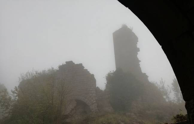 Pour rénover son donjon en mauvais état, le château du Guirbaden devrait bénéficier de l'aide du Loto du patrimoine en Alsace.