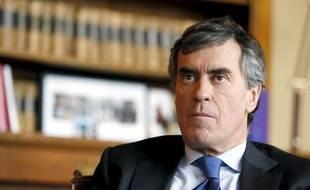 Le ministre du Budget Jérôme Cahuzac, le 8 mars 2013.