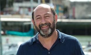 Kad Merad lors du 21e Festival de la fiction TV à La Rochelle, le 14 septembre 2019