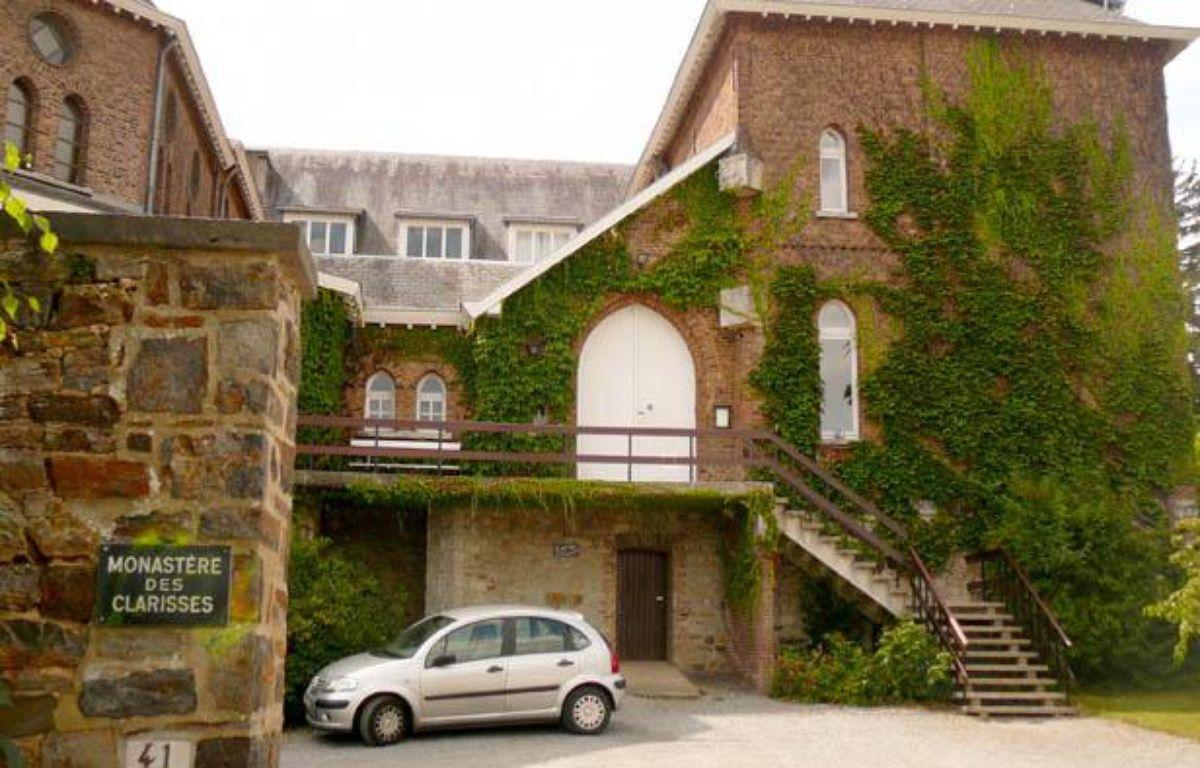Le monastère des Clarisses à Malonne le 22 août 2012 où Michèle Martin, l'ex-femme de Marc Dutroux doit être accueillie à sa sortie de prison. – V. VANTIGHEM / 20 MINUTES