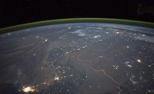 Photographie prise depuis la Station spatiale internationale le 23 septembre 2015.