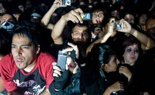 Un concert à Caracas, en 2010.