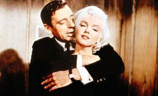 Yves Montand et Marilyn Monroe dans «Le Milliardaire»