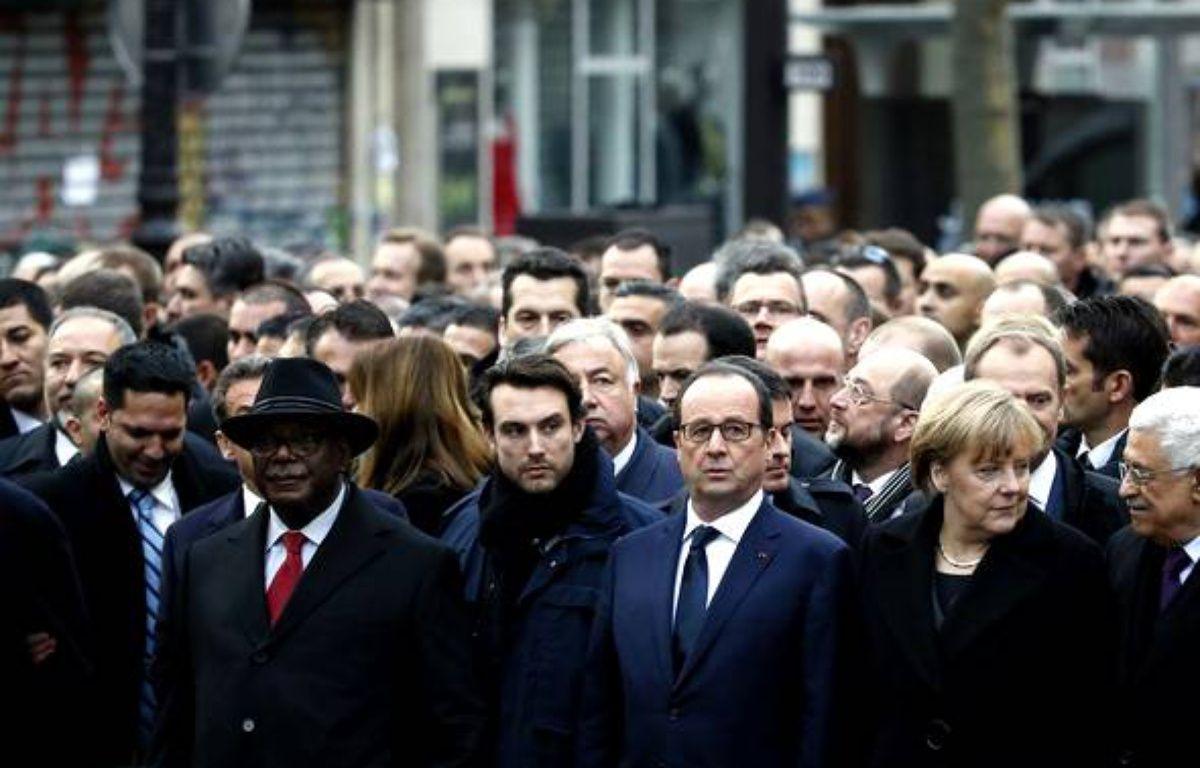 Les dirigeants internationaux défilent à la «marche républicaine» – 20 minutes - Slideshow