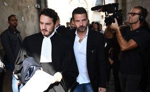 Jérôme Kerviel et son avocat, David Koubbi