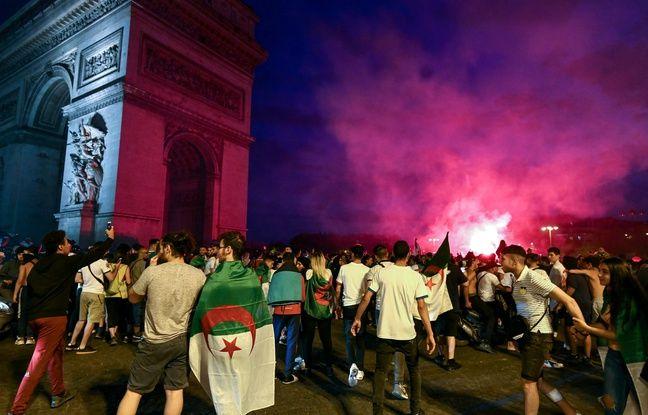 Champs-Elysées: La fête dégénère après la victoire de l'Algérie, deux magasins pillés