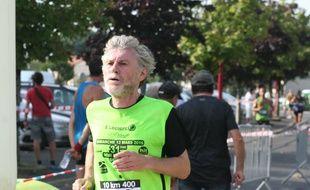 Jean-François Lajeunesse, ce coureur à pied invétéré.