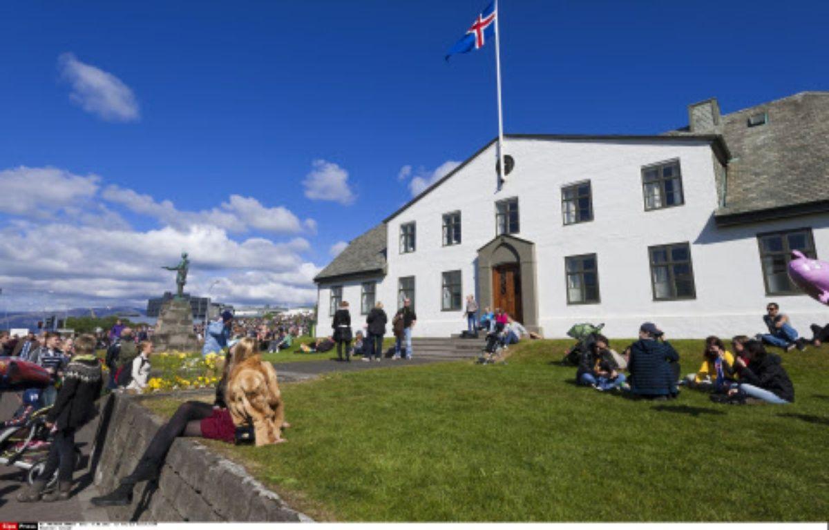 Le siège du gouvernement islandais à Reykjavik, le 17 juin 2012. – Patrick Frilet/SIPA