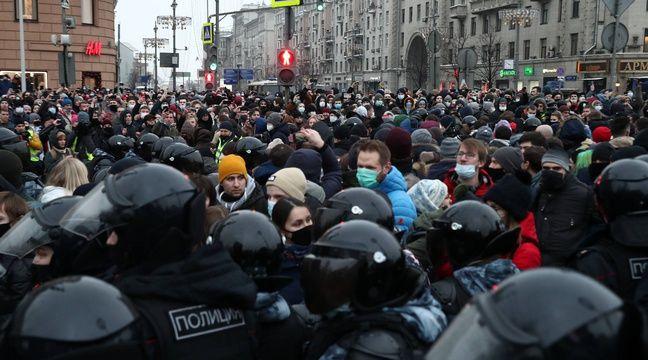 L'ambassade américaine liste les itinéraires des manifs pro-Navalny
