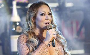 Mariah Carey en plein doute samedi 31 décembre à New York samedi lors de la célébration du Nouvel an.