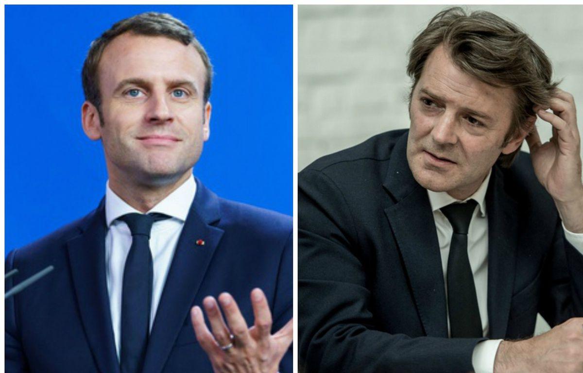 Macron et Baroin – Photomontage/DR