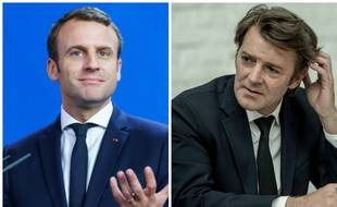 Macron et Baroin